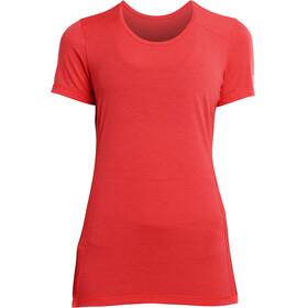 saucony Freedom SS Shirt Women Vizipro Red